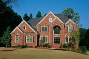 European Style House Plan - 5 Beds 4.5 Baths 3525 Sq/Ft Plan #927-24 Exterior - Front Elevation