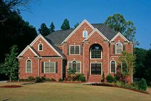 Dream House Plan - European Exterior - Front Elevation Plan #927-24