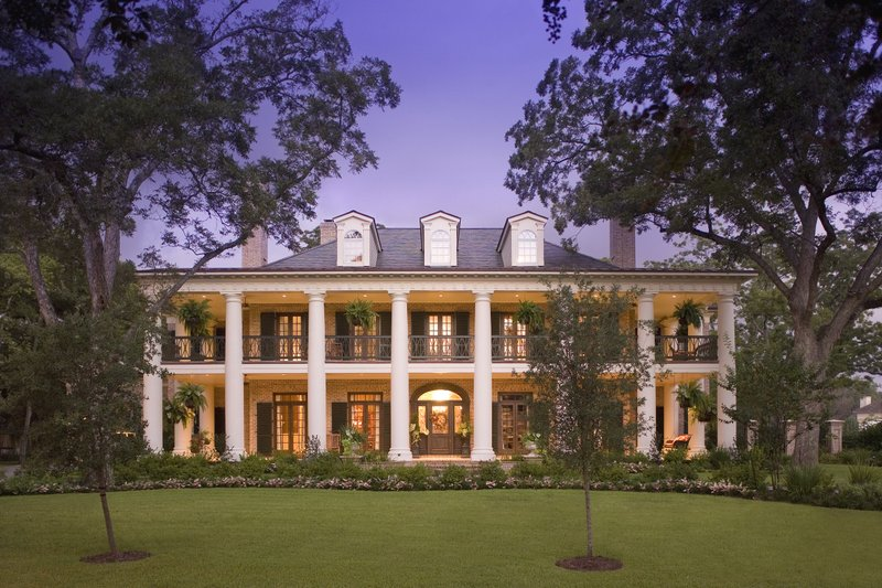 Dream House Plan - Southern Exterior - Front Elevation Plan #20-2173