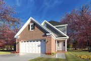 Craftsman Style House Plan - 3 Beds 2.5 Baths 1769 Sq/Ft Plan #923-196 Exterior - Front Elevation