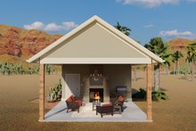 Dream House Plan - Traditional Exterior - Front Elevation Plan #1060-94