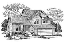 House Plan Design - Traditional Exterior - Front Elevation Plan #70-271