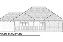 Dream House Plan - European Exterior - Rear Elevation Plan #70-987