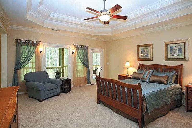 Traditional Interior - Master Bedroom Plan #56-541 - Houseplans.com