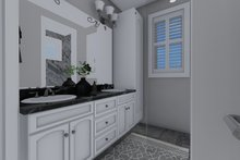 House Plan Design - Traditional Interior - Master Bathroom Plan #1060-56