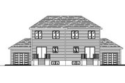 Traditional Style House Plan - 3 Beds 1.5 Baths 2428 Sq/Ft Plan #138-240 Exterior - Rear Elevation