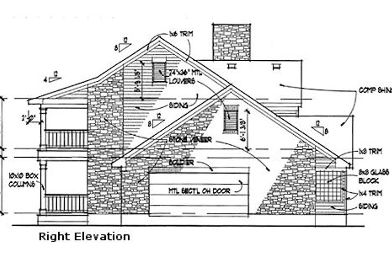Southern Exterior - Other Elevation Plan #120-157 - Houseplans.com