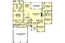 European Floor Plan - Main Floor Plan Plan #430-139
