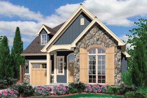 House Plan Design - Cottage Exterior - Front Elevation Plan #48-374