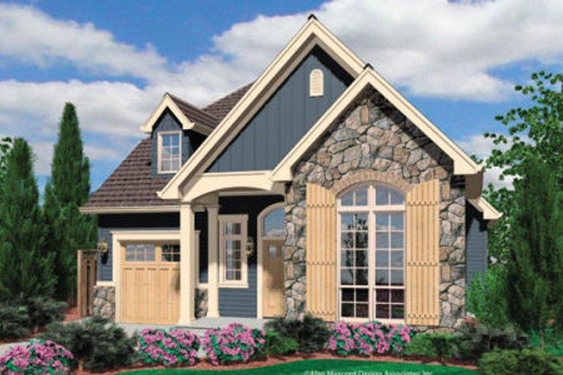 Dream House Plan - Cottage Exterior - Front Elevation Plan #48-374