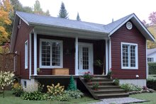 Home Plan - Cottage Exterior - Front Elevation Plan #23-2198