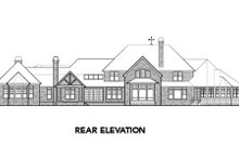 Home Plan - European Exterior - Other Elevation Plan #48-258