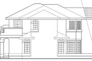 Mediterranean Style House Plan - 4 Beds 2.5 Baths 2635 Sq/Ft Plan #124-431 Exterior - Other Elevation