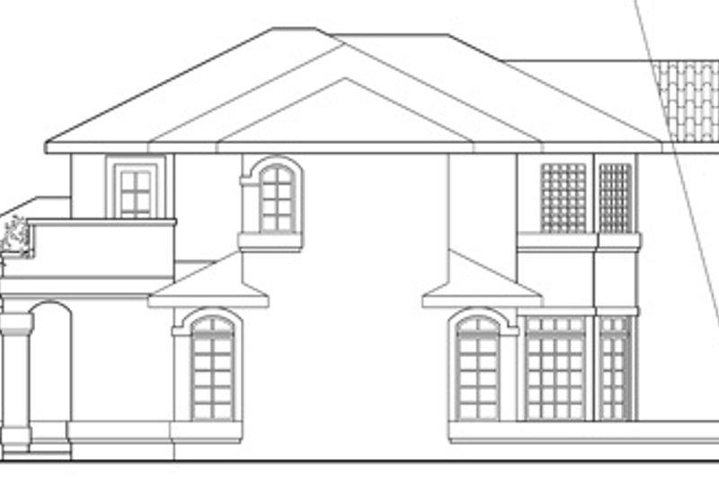 Mediterranean Exterior - Other Elevation Plan #124-431 - Houseplans.com