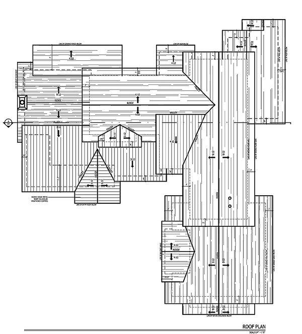 Craftsman Floor Plan - Other Floor Plan #899-2