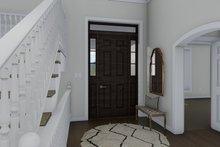 House Plan Design - Traditional Interior - Entry Plan #1060-69