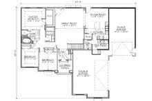 Ranch Floor Plan - Main Floor Plan Plan #5-239