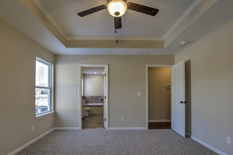 Ranch Interior - Master Bedroom Plan #20-1869 - Houseplans.com