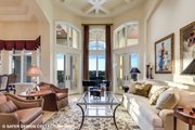 European Style House Plan - 4 Beds 5.5 Baths 6594 Sq/Ft Plan #930-516 Interior - Family Room