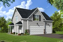Home Plan - Country Exterior - Front Elevation Plan #932-16