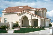 Mediterranean Style House Plan - 5 Beds 3 Baths 3036 Sq/Ft Plan #1-750 Photo