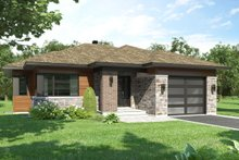 Architectural House Design - Modern Exterior - Front Elevation Plan #23-2699