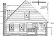 Craftsman Style House Plan - 4 Beds 2.5 Baths 1595 Sq/Ft Plan #312-138