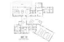 Modern Floor Plan - Main Floor Plan Plan #892-32