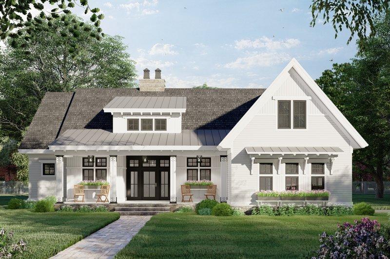 House Plan Design - Farmhouse Exterior - Front Elevation Plan #51-1169