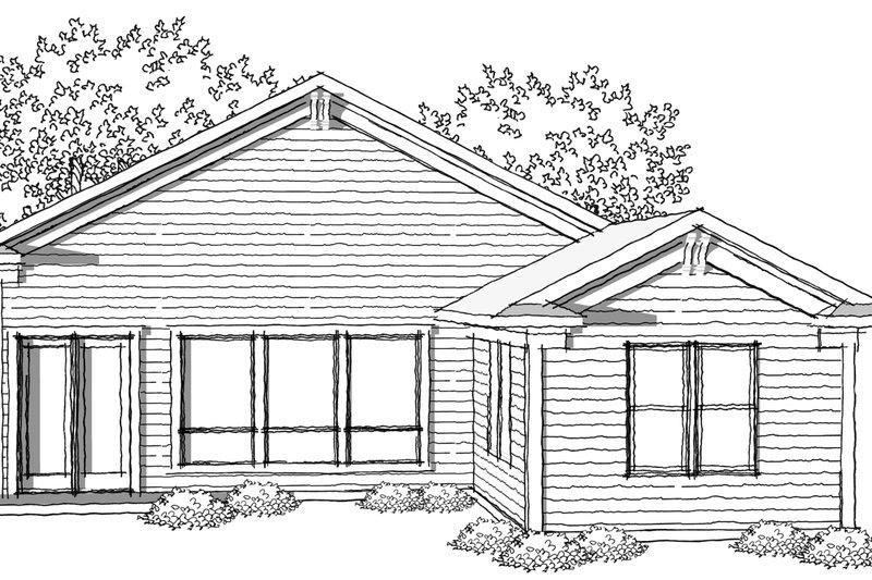 Ranch Photo Plan #70-1025 - Houseplans.com