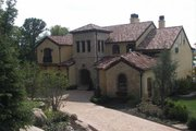 Mediterranean Style House Plan - 5 Beds 7.5 Baths 8756 Sq/Ft Plan #458-22 Exterior - Front Elevation