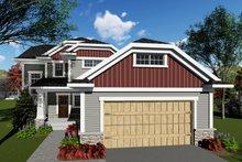 House Plan Design - Craftsman Exterior - Front Elevation Plan #70-1415