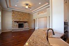 Architectural House Design - Craftsman Interior - Family Room Plan #120-172