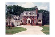 Colonial Style House Plan - 4 Beds 3.5 Baths 2865 Sq/Ft Plan #429-13