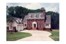 Dream House Plan - Colonial Exterior - Other Elevation Plan #429-13
