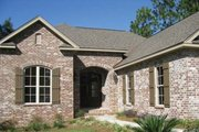 Traditional Style House Plan - 3 Beds 2.5 Baths 1800 Sq/Ft Plan #430-60 Exterior - Front Elevation