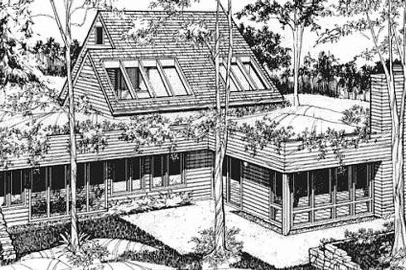Exterior - Front Elevation Plan #320-315