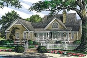 Country Style House Plan - 3 Beds 2 Baths 1832 Sq/Ft Plan #929-225 Exterior - Rear Elevation
