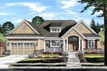 Home Plan - Ranch Exterior - Front Elevation Plan #46-882