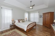 Craftsman Style House Plan - 4 Beds 3 Baths 2331 Sq/Ft Plan #929-978 Interior - Master Bedroom
