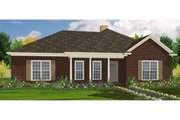 Traditional Style House Plan - 4 Beds 2 Baths 1634 Sq/Ft Plan #63-219 Exterior - Front Elevation