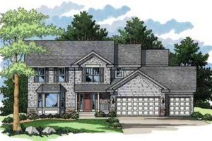 Traditional Exterior - Front Elevation Plan #51-220
