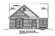 Traditional Style House Plan - 2 Beds 2 Baths 1249 Sq/Ft Plan #329-108 Exterior - Other Elevation