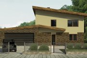 Contemporary Style House Plan - 3 Beds 2 Baths 2650 Sq/Ft Plan #906-5 Photo