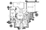 Farmhouse Style House Plan - 4 Beds 4 Baths 3105 Sq/Ft Plan #310-625 Floor Plan - Main Floor
