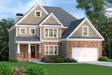 Craftsman Exterior - Front Elevation Plan #419-199