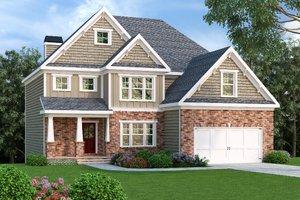 Craftsman Exterior - Front Elevation Plan #419-199