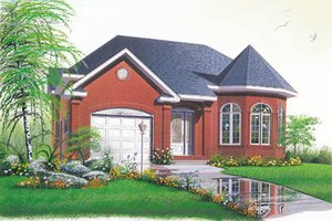 Traditional Exterior - Front Elevation Plan #23-147