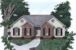 Traditional Exterior - Front Elevation Plan #129-144