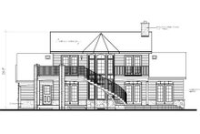 Dream House Plan - Victorian Exterior - Rear Elevation Plan #23-725